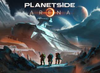 PlanetSide Arena - pierwsze spojrzenie na ogromną mapę oraz krążownik lotniczy...